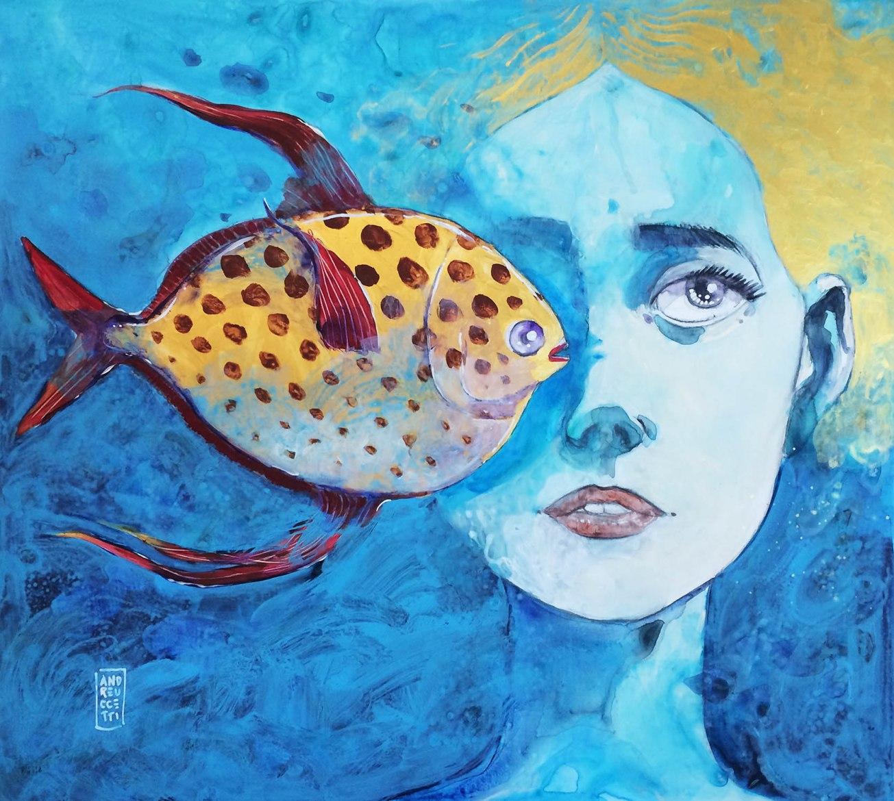 Il pesce re innamorato