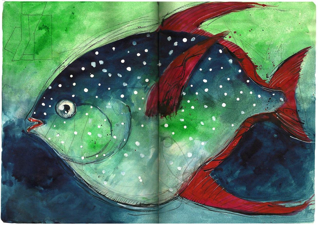 Il pesce re