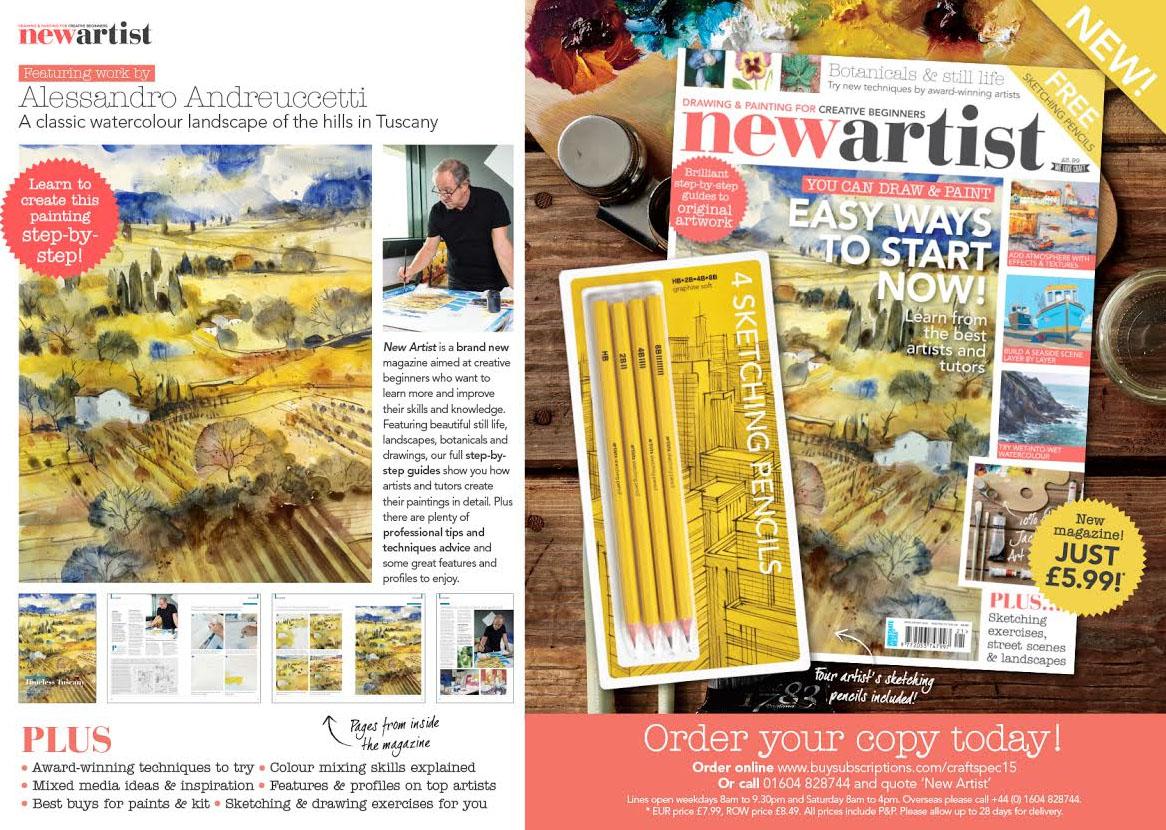 new artist magazine