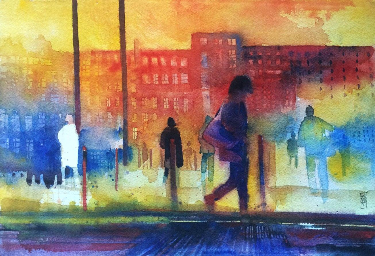 street scene o