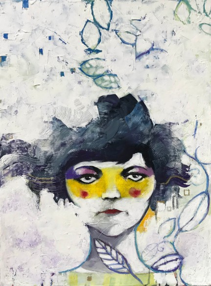 Acrylics on canvas