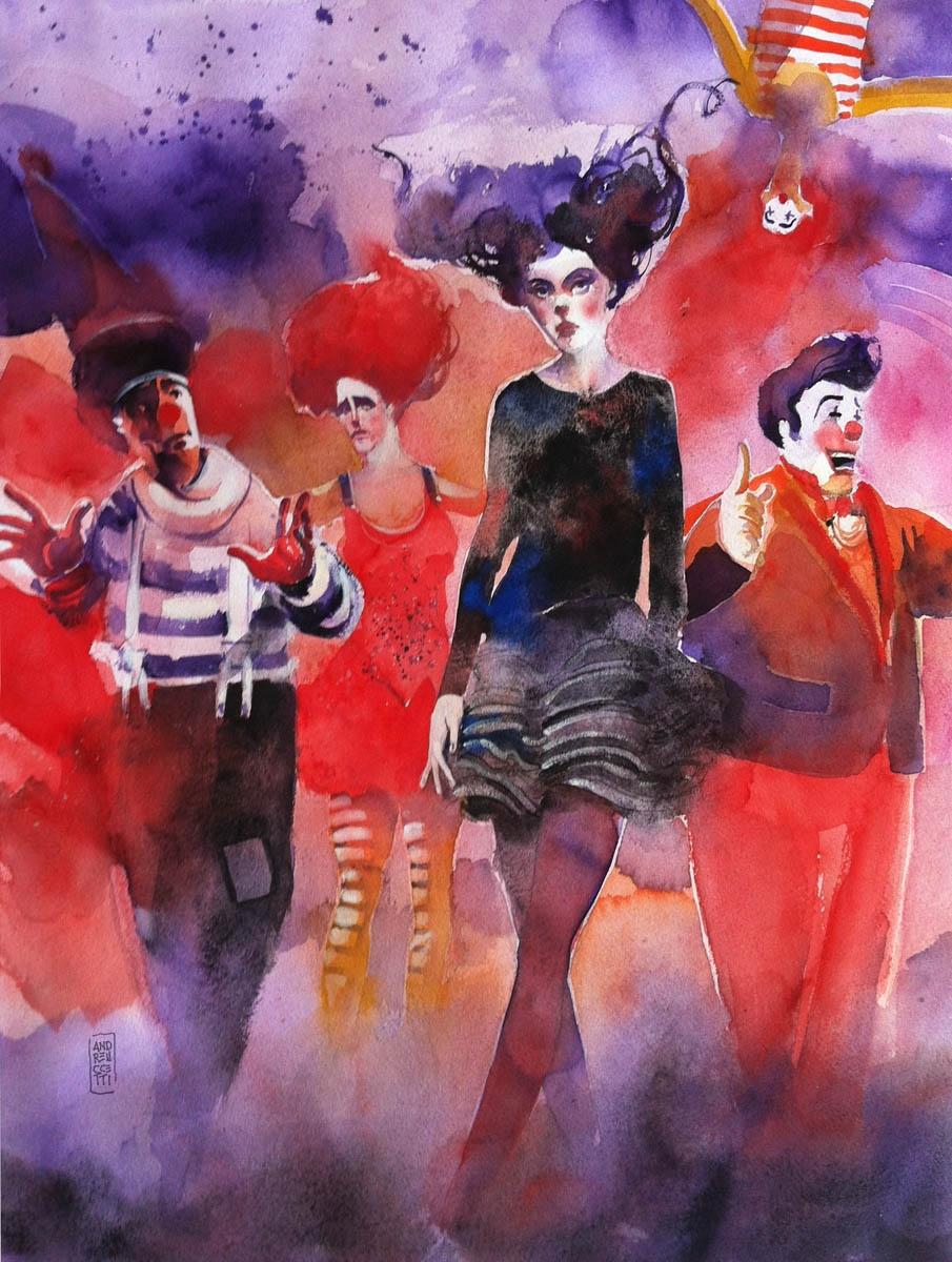 Alessandro Andreuccetti 1955 - Italian Watercolor painter - Tutt'Art@ (25)