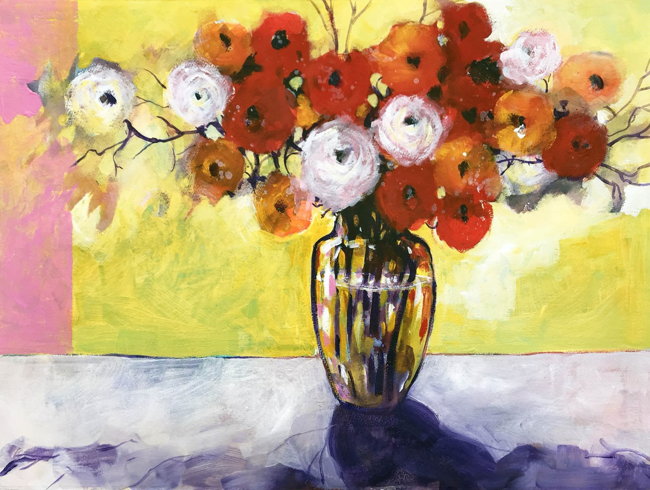 Still life with ranunculus front p